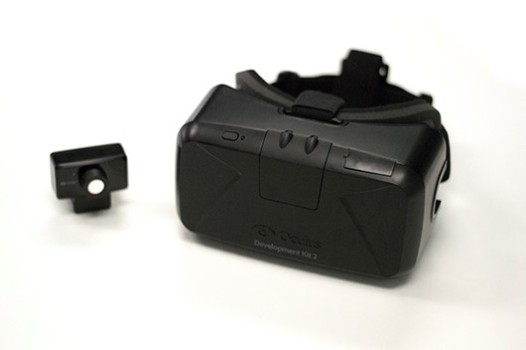 Oculus DK2 headset. (Image courtesy OculusVR.)