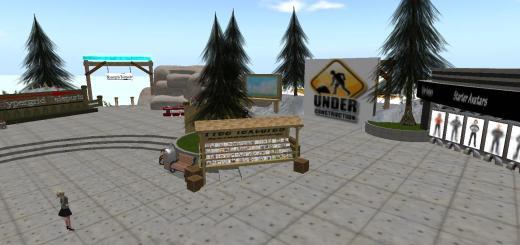 SkyLife Grid's welcome region.