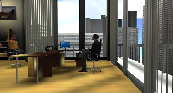 Help your client reach the top floor executive offices. (Image courtesy Venuegen.)