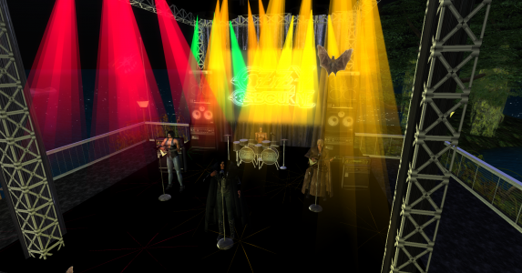 This summer's Ozzie Con on the Virtual Highway grid. That grid has a lot of parties.