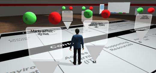 Daden Virtual Campus. (Image courtesy Daden Ltd.)