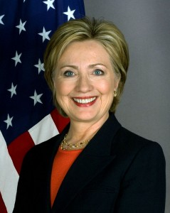 Official photograph of Hillary Clinton as Secretary of State.