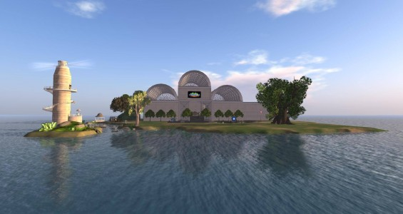 AviWorlds freebie mall. This looks like Linda Kellie's freebie mall -- not that there's anything wrong with that. (Image courtesy AviWorlds.)
