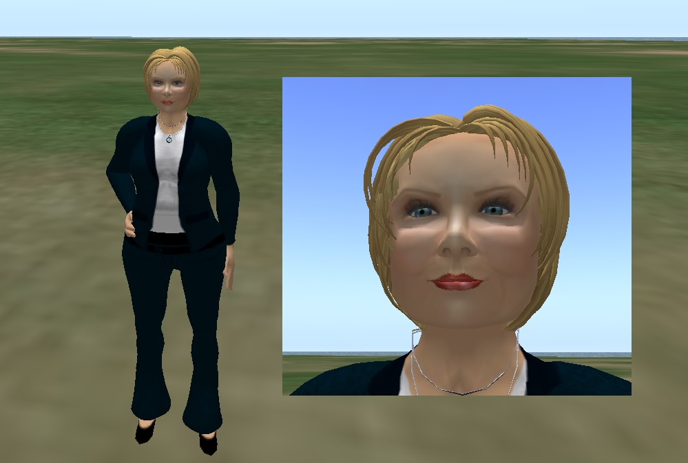 how to put your own face on your avatar