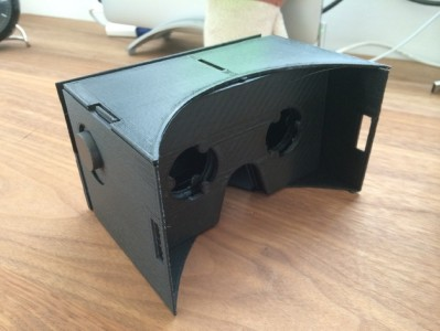 Google Cardboard for Nexus5. (Image courtesy  abars via Thingiverse.)