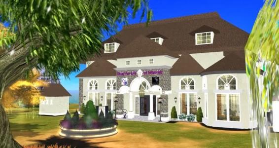 Muse Island on InWorldz. (Image courtesy Relay for Life on InWorldz.)