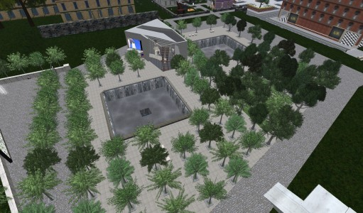 Littlefield Grid's 9/11 Memorial. (Image courtesy Littlefield Grid.)