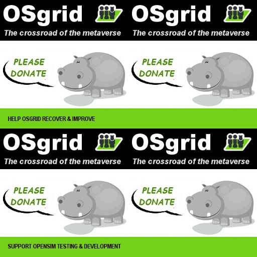 OSgrid donation ad 2x2 texture