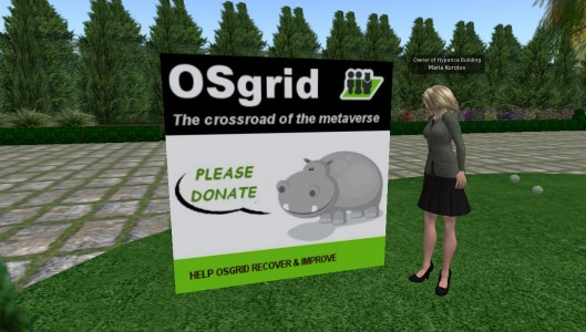 OSgrid donation snapshot