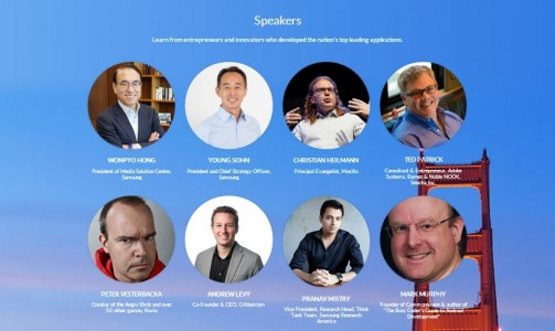 Samsung conference speakers