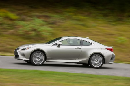 The 2015 Lexus RC 350. (Image courtesy Lexus.)