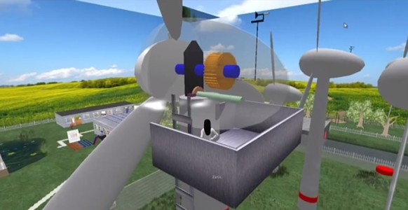 An Energy Park build  by Media and Communication students at the University of Augsburg.
