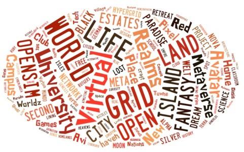 Grid name world cloud. (Image via Taxedo.)