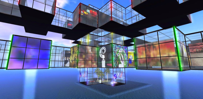 The Metaverse Museum in OpenSim. (Image courtesy Museo del Metaverso.)