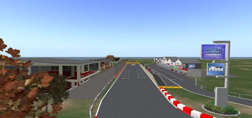 Pro Racer Motorsports racetrack. (Image courtesy Mike Hart.)