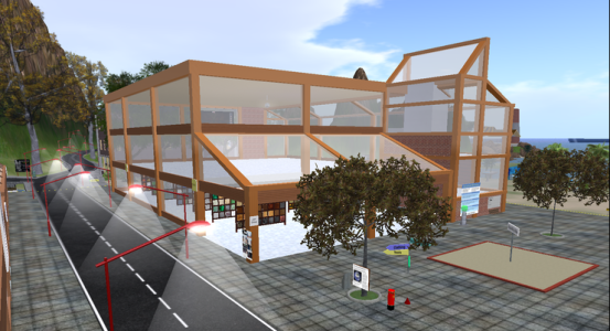 The Samsara region on OSgrid is home to one of the oldest freebie stores in OpenSim. (Image courtesy Dreamland Metaverse.)