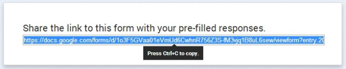 Save link -- step three