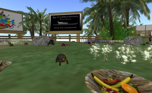 A LifePet Breedable turtle eats mesh fruit, as visible in the bowl above.
