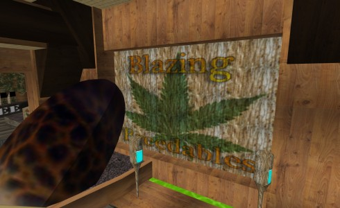 Blazing Breedables medicinal marijuana store on AviWorlds.