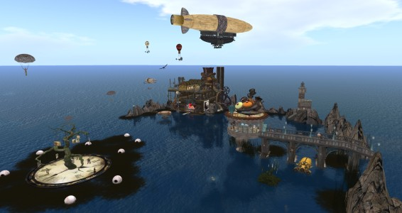 SteampunkZ region by Avia Bonne. (Image courtesy Littlefield Grid.)