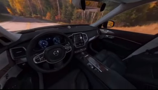 Volvo has created a virtual reality app to promote its new SUV.