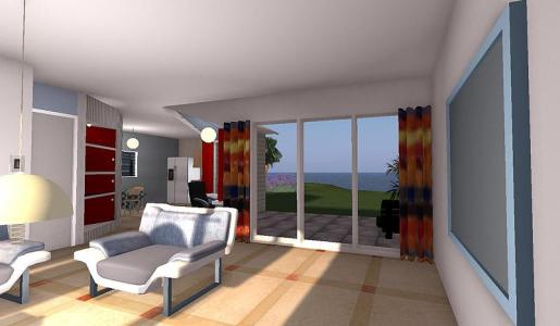 An example of a virtual holiday destination from Troppo Design.