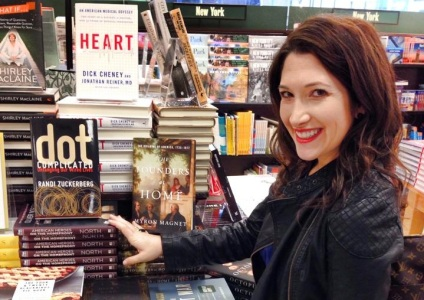 Randi Zuckerberg is a best-selling author, former Facebook executive, and sister to Facebook founder Mark Zuckerberg. (Image courtesy Randi Zuckerberg.)