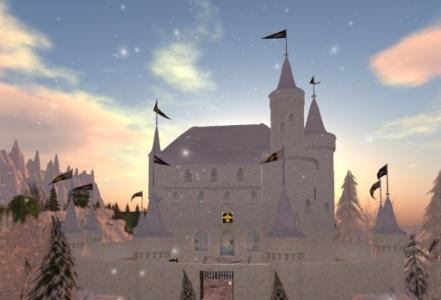 Schneetreiben Castle. (Image courtesy Metropolis.)