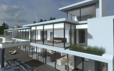 A virtual building using the Arch Virtual system.