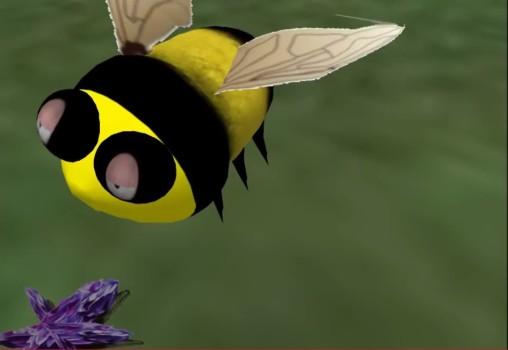 Fred Beckhusen's flying bee. (Image courtesy Fred Beckhusen.)