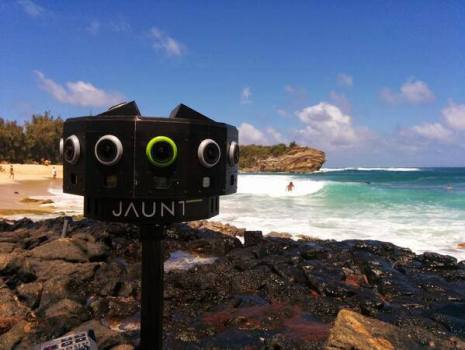 Jaunt VR 360 degree camera