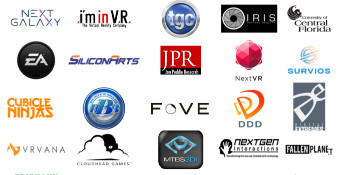 Some of the members of  the Immersive Technology Alliance.