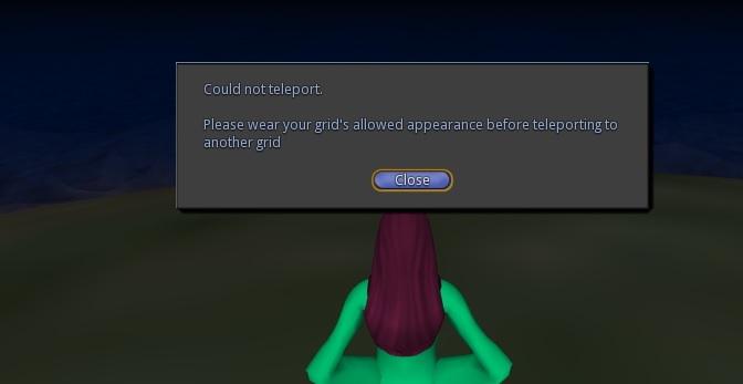 Default appearance warning. (Image courtesy Crista Lopes.)