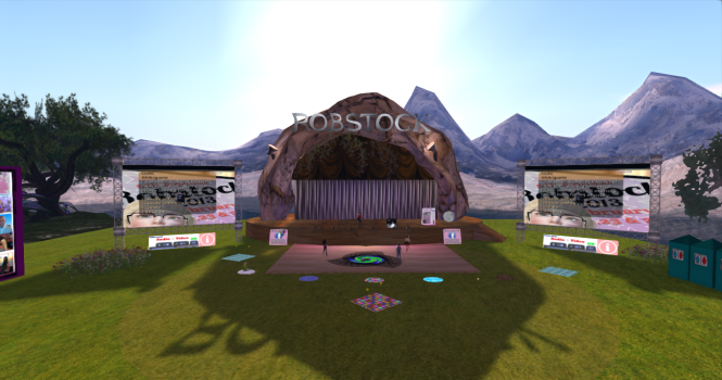 3rd Rock Grid is well known for its music scene. (Image courtesy RobStock Festival.)