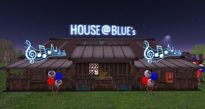 Interspersed throughout the conference will be live performances at The House @ Blue's Corner Pub with tunes by Grif Barmaisin, Scarlett LaRoux, and Lightnin Lowtide. (Image courtesy VWBPE.)