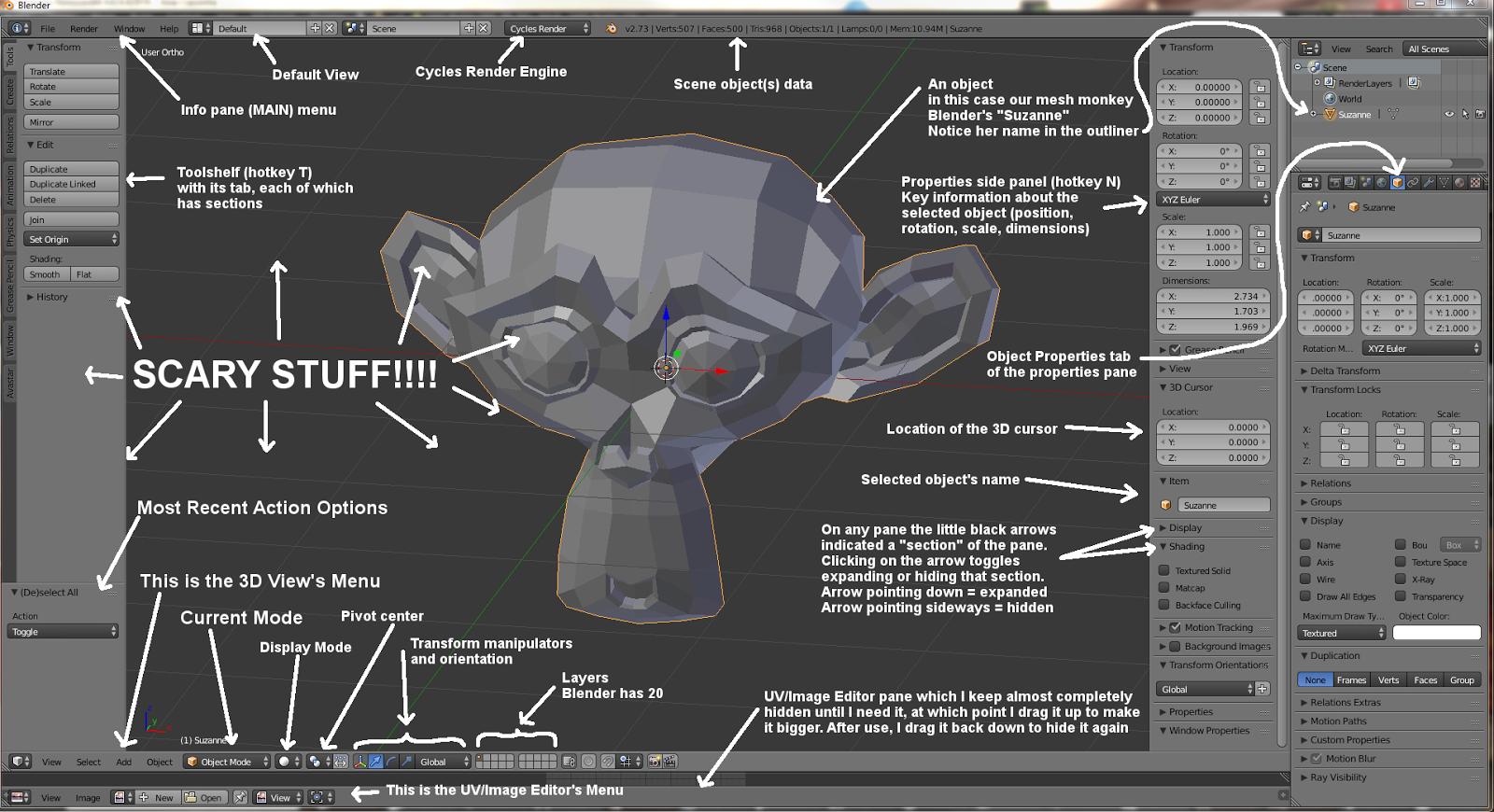 Blender tutorial series released for OpenSim – Hypergrid