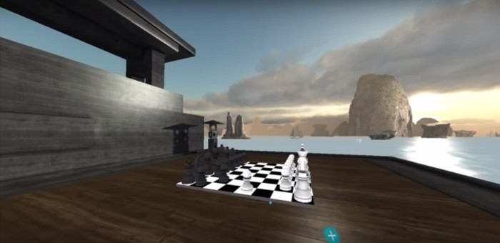 Chess game in AltSpaceVR.