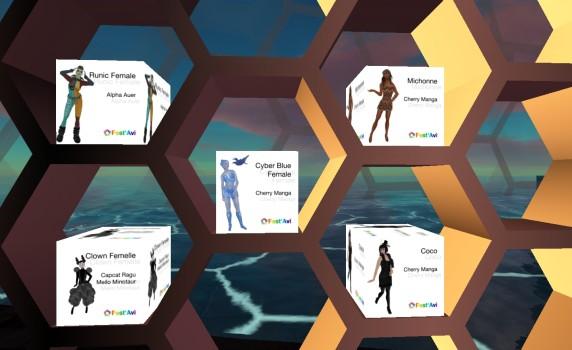 Last year's avatars are still available on FrancoGrid's Avatar region.