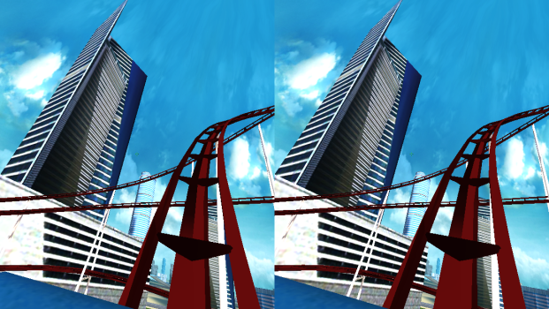 The Dive City Rollercoaster app.