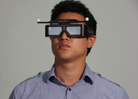 Stereo glasses. (Image courtesy WorldViz.)