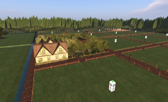 Free residential plots on Tangle Grid's Shores Haven region.