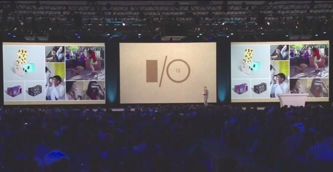 at Google I/O 2015.