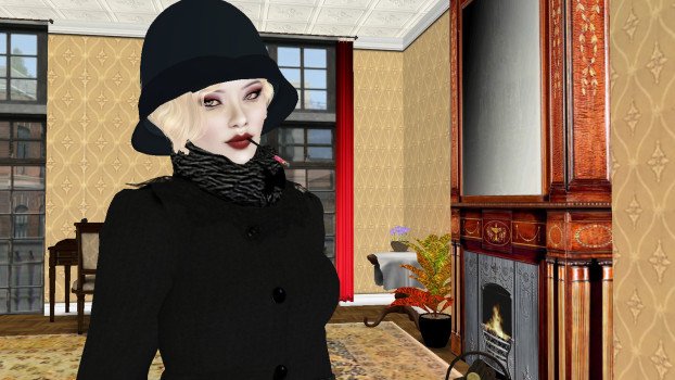 1920s Berlin in Second Life. (Image courtesy Cammy Teardrop via Flckr.)