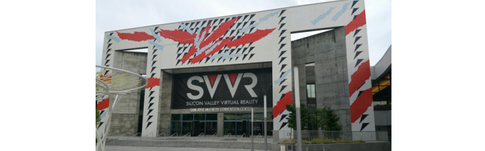 SVVR 2015 was held at the San Jose Convention Center.