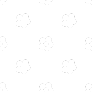 This is a texture of white flowers on a transparent background.