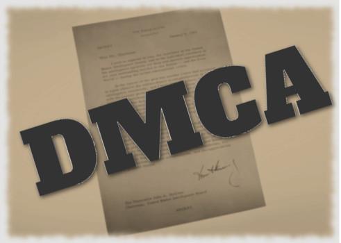 DMCA letter