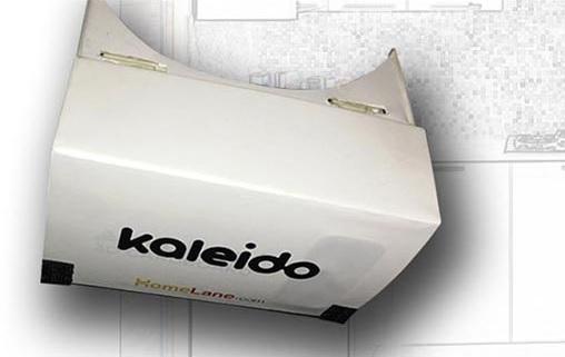 Kaleido headset. (Image courtesy HomeLane.)