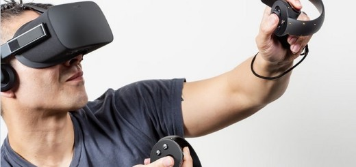 The Oculus Touch motion controllers are due out in the second half of 2016. (Image courtesy Oculus VR.)