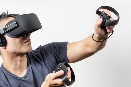 Oculus Rift consumer version is due out in 2016. (Image courtesy Oculus VR.)