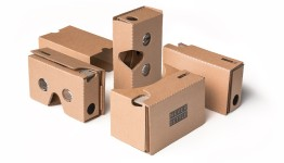 Over a million Google Cardboard sets have been shipping, with prices starting at undr $10 -- and some companies, like One Plus, giving them away for free.